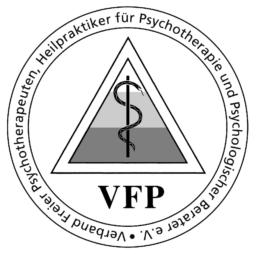Logo des Verbandes freier Psychotherapeuten, Heilpraktiker für Psychotherapie und Psychologischer Berater e.V.